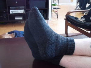 Chase's Charcoal Socks