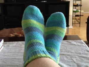 Stripey Socks for Me!