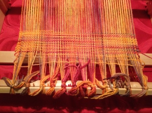Post Hem-Stitch weaving