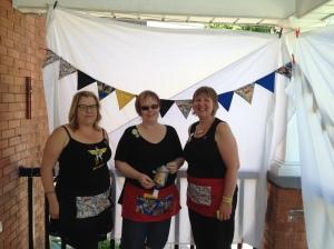 L-R: Lynne, Karen and Cari