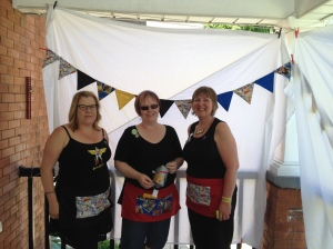 L-R: Lynne, Karen and Cari