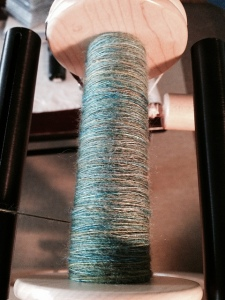 "Colourway: ""I Am A Drinker With A Spinning Problem"""